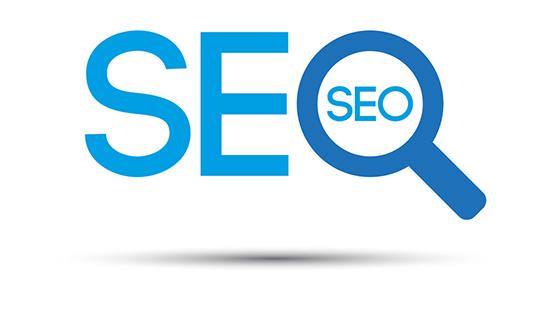 Search engine optimization logo, seo symbol isolated on white background